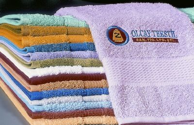Olcay Tekstil  - PRODUCTION OF TOWEL BAÞROBE MY TRADE MARK iS COLOUR OF COTTON