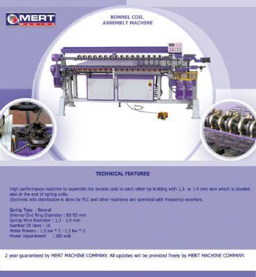 Mert Makina Ltd - Kapitone Makinasi Kapitone Kesim Makinasi Yatak Kenar Kapama Makinasi Yatak Yan Bordur Makinasi