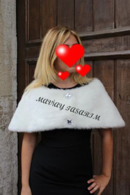 SARRAF K�RK - imitasyon k�rk �al yaka bolero ceket ya�murluk sarraf k�rk