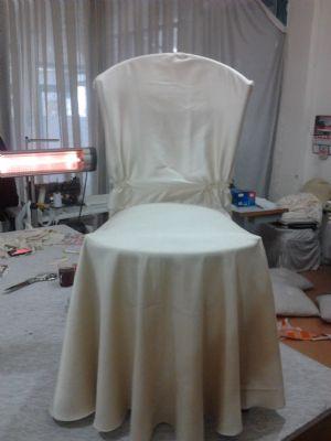 Ankara Sandalye Giydirme - MASA SANDALYE KILIFI
