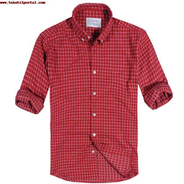 kýrmýzý pötikare gömlekler, erkek gömlek modelleri, yeni sezon gömlekler