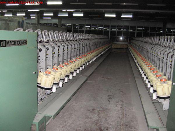 2 adet MURATA BOBİN MAKİNASI SATILACAKTIR<br><br>Murata Bobin Makinası, 2 adet,Tip:7- II, 1991 model, 50 iğ, Magazinli, 5'57 konik, parafin aparatlı, G1 düğümleyici, Drum tipi 2 adım, temizleyici Uster MKC20- MC, Gezer temizleyici Luwa<br><br><br>1991 model Murata bobin makinası, Satılık murata bobin makinası, Satılık murata bobin makinesi, Satılık murata bobin makinaları, Satılık murata bobin makineleri,