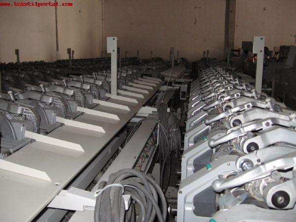 Satılık Murata Bobin Makinaları<br><br>Murata Bobin Makinası, 6 adet, Tip:7- 5, 2000 model, 60 iğli, otomatik, parafin aparatlı, 5'57 konik, G2Z düğümleyici, otomatik besleme, drum 2, 5 adım, Gezer Temizleyici Luwa, 3 makine 2 farklı iplik - 3 makine tek iplik çalışmaya uygundur.<BR><BR><BR>Satılık Murata bobin makinası, Satılık Murata bobin makinesi, Satılık Murata bobin makinaları, Satılık Murata bobin makineleri, Satılık Murata iplik bobin makinası, Satılık Murata iplik bobin makinesi, Satılık Murata iplik bobin makinaları, Satılık Murata iplik bobin makineleri