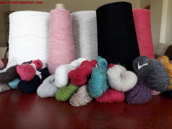 rejenere akrilik iplik üreticisi<br><br>2/32 HB 100 acrylic yarn