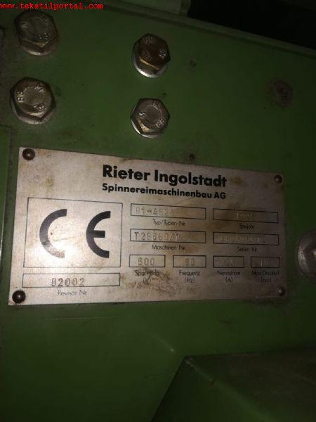 4 Adet RÝETER R1 OPEN END ÝPLÝK MAKÝNALARI SATILACAK  0 506 909 54 19     <br><br>4 Adet 1996 model Rieter R1 Open end pamuk iplik makineleri satýlacaktýr<br><br>1996 Model 380 Rotor, 32lik rotor, 2 derece Silindirik Rieter R1 Ýplik makinalarý satýlacaktýr<br><br><br> Satýlýk rieter iplik makinalarý, Satýlýk Rieter R1 Ýplik makineleri, Ýkinci el Rieter open end makinalari, Satýlýk Rieter R1 open end makineleri, Satýlýk rieter open end iplik makinalarý, Satýlýk Rieter R1 open end Ýplik makineleri, Ýkinci el Rieter 380 rotor open end makinalari, Satýlýk Rieter R1 380 rotor open end makineleri, 1996 model Rieter iplik makinasý, 1996 model R1 Open end makinesi, Satýlýk open end iplik makinalarý, Ýkinci el Open end iplik makinalarý,