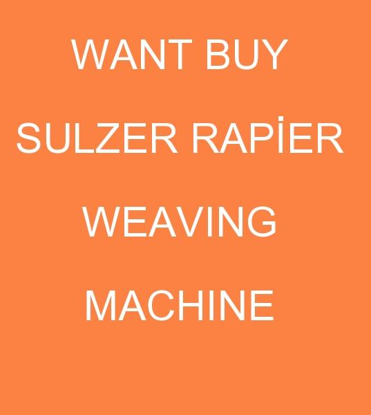 Pakistan'dan SULZER RAPİER DOKUMA MAKİNASI TALEBİ  <br><br>1970-1995 MODEL SULZER RAPİER F2100/G6100/G6200 DOKUMA MAKİNASI ALINACAKTIR<br><br><br>Sulzer Rapier F2100 Dokuma makinası, Sulzer Rapier F2100 Dokuma makinaları, 1970 model Sulzer Rapier G6100 Dokuma makinesi, 1995 model Sulzer Rapier G6100 Dokuma makineleri, Rapier G6200 Dokuma tezgahları alıcısı, Rapier G6200 Dokuma tezgahı müşterisi, ikinci el Sulzer Rapier G6200 Dokuma makinası, ikinci el Sulzer Rapier G6200 Dokuma makinaları