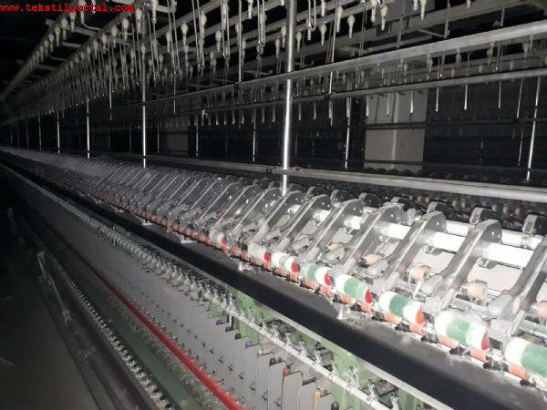Satılık 12 Adet RİETER İPLİK MAKİNELERİ 0 506 909 54 19<br><br>12 Adet 2003 Model Rieter iplik makinası, 42 Bilezik Rieter iplik makinası, 1200 İğ Rieter iplik makinası, Konvansiyonel Rieter iplik makinesi satılacaktır<br><br> Bobine Link bağlantılı-  Akuple rieter iplik makinası<br><br><br>2003 Model Rieter eğirme makinası, 2003 Model Rieter eğirme makinesi, 2003 Model Rieter eğirme makinaları, 2003 Model Rieter eğirme makineleri, Satılık Rieter iplik makinası, Satılık Rieter iplik makinesi, Satılık Rieter iplik makinaları, Satılık Rieter iplik makineleri ri,