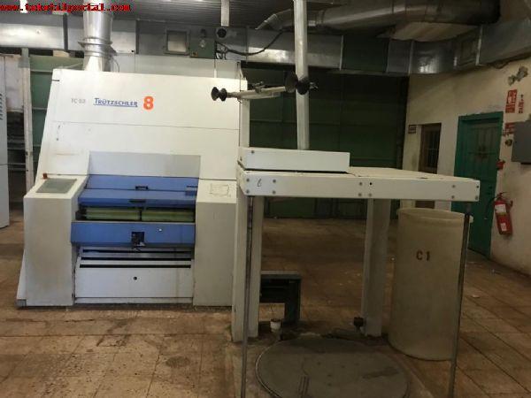 10 Adet TRUTZCHLER TC03 TARAK MAKİNALARI SATILACAKTIR<br><br>10 Adet Trutzchler TC03 Tarak makineleri satılacaktır<br> Trutzchler TC03 Carding Machine <br> 10 Sets Available <br> 1000/1200 Can Dia<br> 2006- 2007 Year