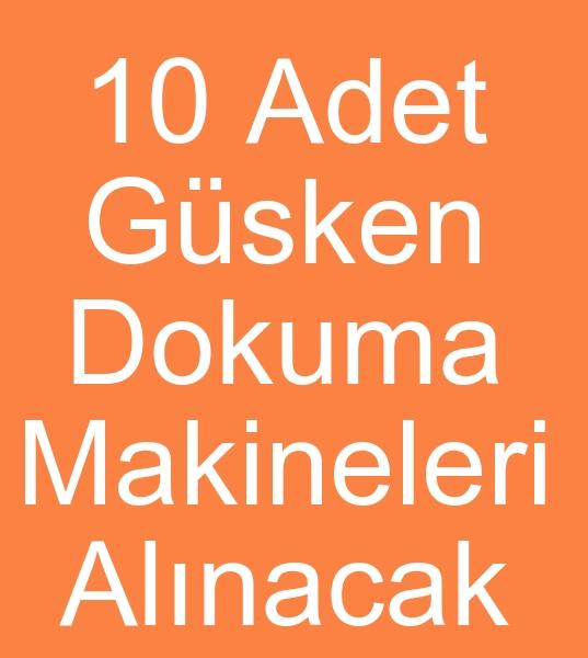 Özbekistandan GÜSKEN DOKUMA MAKİNELERİ TALEBİ  0 506 909 54 19<br><br>Özbekistandan 10 Adet 175 cm Gusken  l- 5088 Kadife Dokuma makineleri talebi