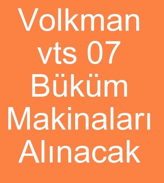 Tacikistandan  6 adet VOLKMAN İPLİK BÜKÜM MAKİNASI ALINACAKTIR  0 506 909 54 19<br><br>22 Ağustos Perşembe günü İstanbula gelecek olan Tacikistanlı İplik büküm makinası satın almacısı<br><br> 5-  6  adet 1000 Göz Volkman vts 07 İplik büküm makinaları alınacaktır
