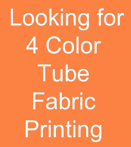 4 Color Tube knitted fabric Printing machine demand from Sudan<br><br>Tubular knit fabric printing machine How much is the price of the machine whatsap can send pictures you can write<br>