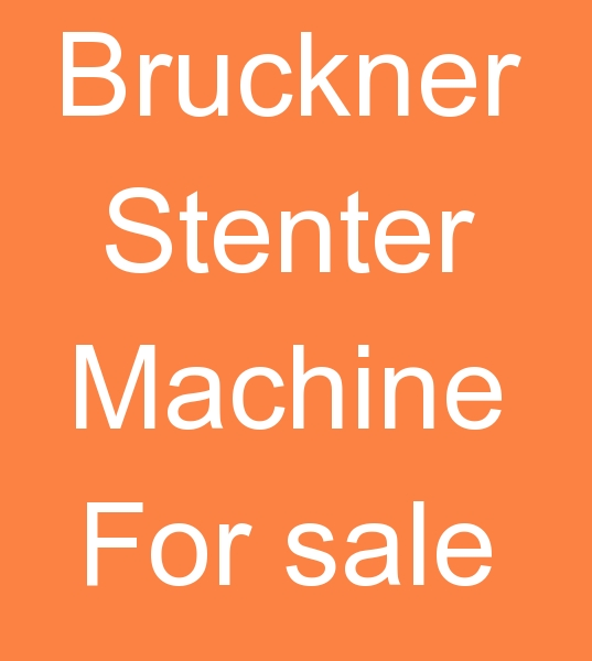 2005 MODEL BRUCKNER STENTER MACHINE FOR SALE  +90 553 951 31 34 Whatsapp<br><br>Model 2005/2006, 240 cm <br>